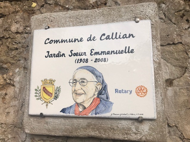 LE JARDIN DE SOEUR EMMANUELLE