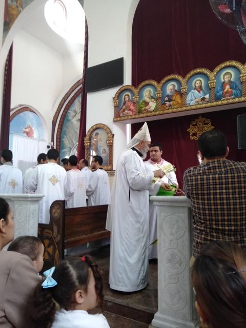 Uma nova igreja em Berba, Egito