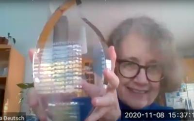 2020 Eternal Light Award: towards new horizons