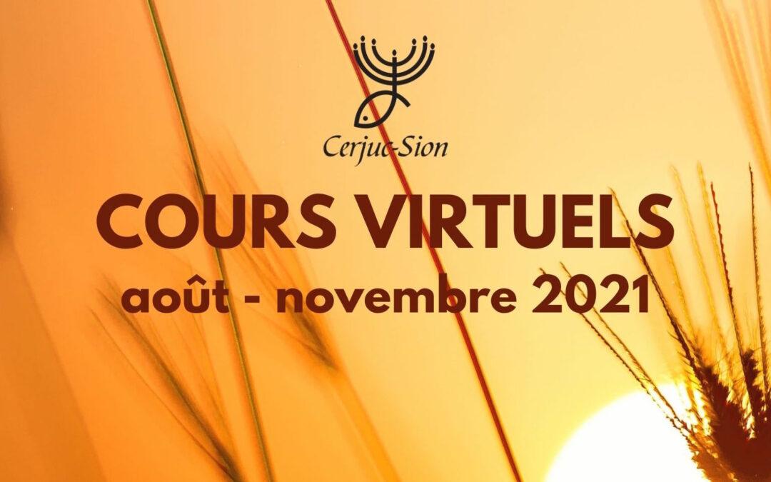 CERJUC (San José, Costa Rica) – Cours virtuels : août-novembre 2021