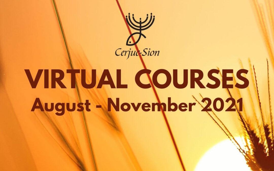 CERJUC (San José, Costa Rica) on-line courses: August-November 2021